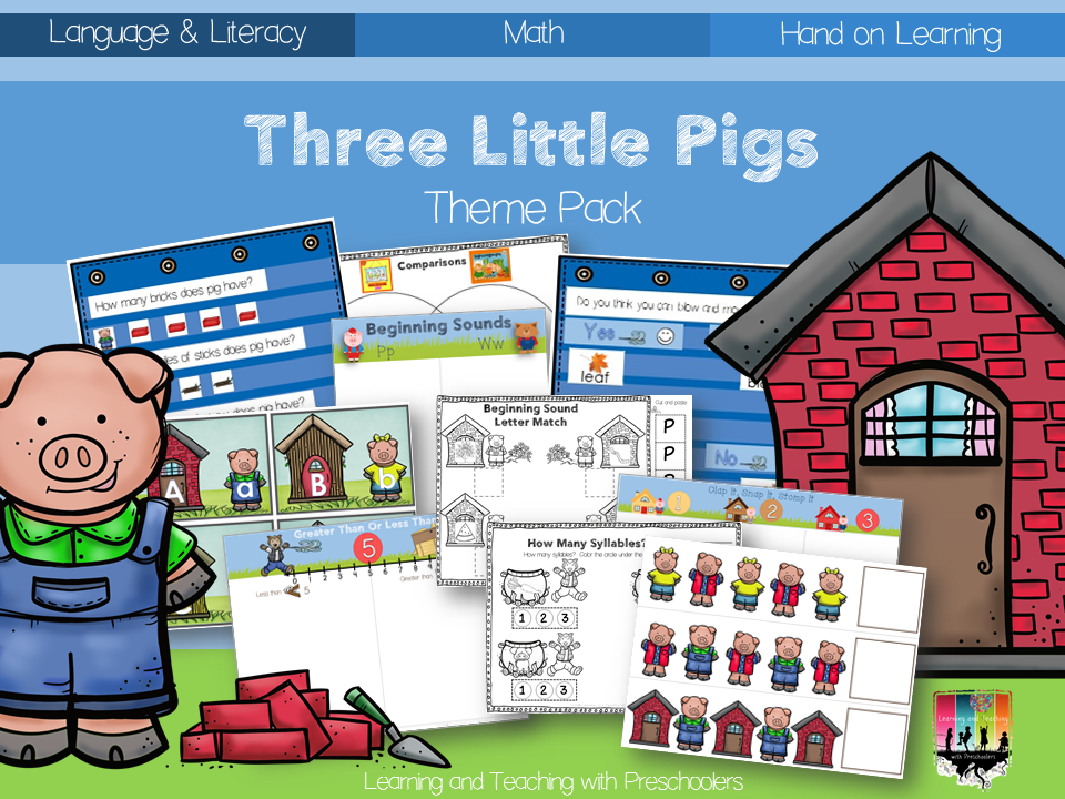 Huff and Puff with the Three Little Pigs. Your little ones will love ...